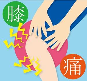 膝の痛みの画像